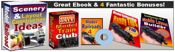 model trains layouts