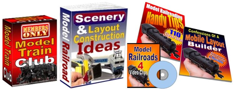 model train clubs and scenery
