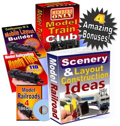 model train layouts ebook